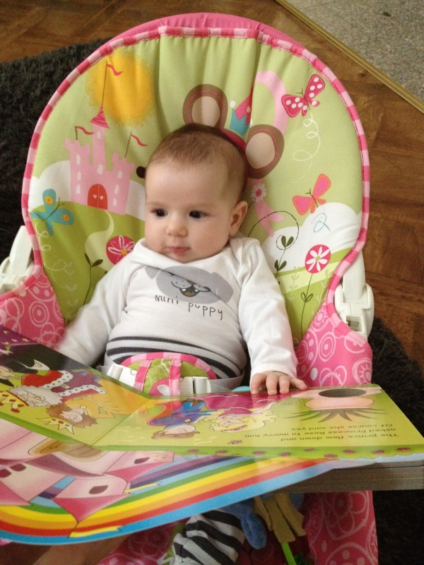Enjoying a good read  ;)