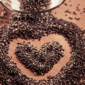 Chia seeds; photo credit: www.theglobag.com