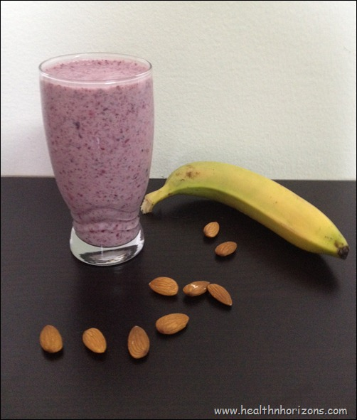 smoothie berry banana