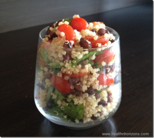 quinoa adzuki bean salad