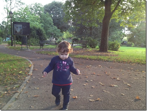 afternoon toddler walks in france