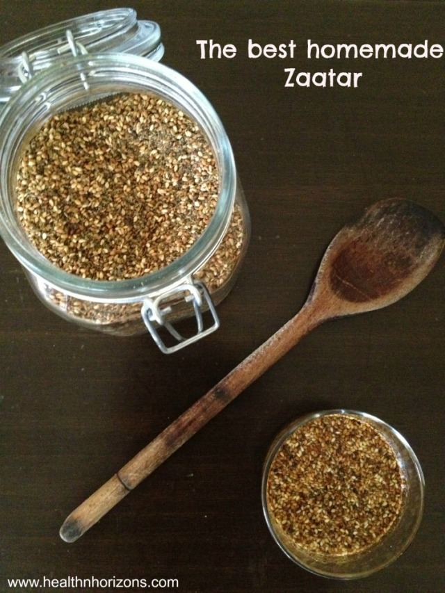 homemade zaatar