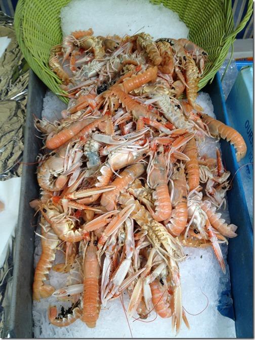Farmers' market paris- seafood
