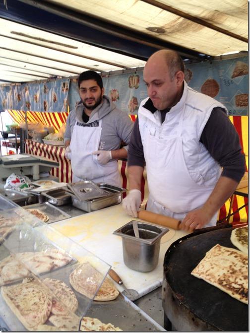 Farmers' market paris- Lebanese corner