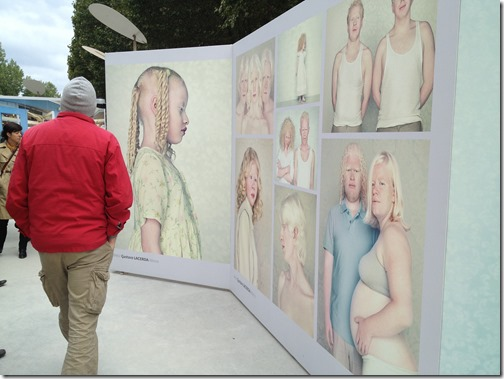 Photoquai 2013- Albinos