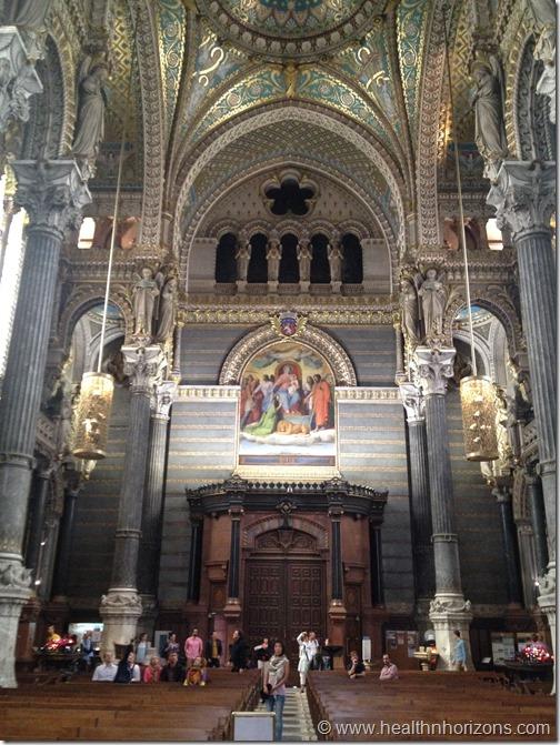 Inside Fourviere