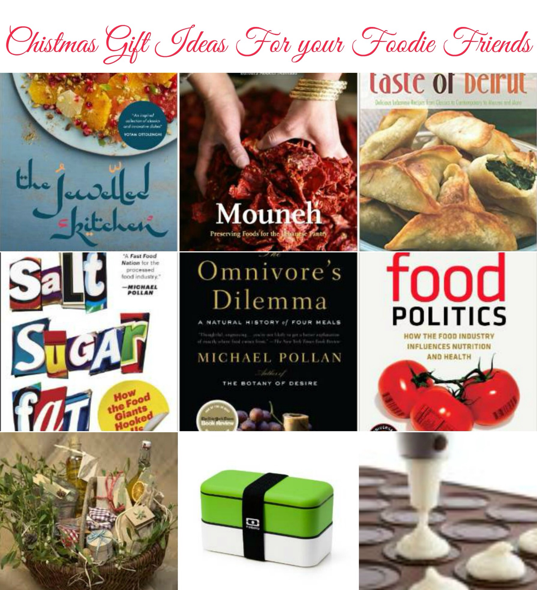 Christmas gift ideas for your foodie friends | Health and Horizons